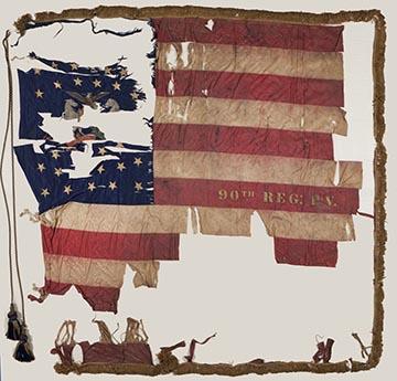 90th PA flag