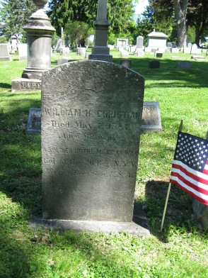 William Christian grave