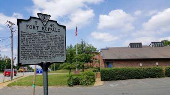Fort Buffalo Sign