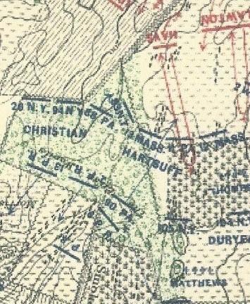 88th PA Cornfield Map