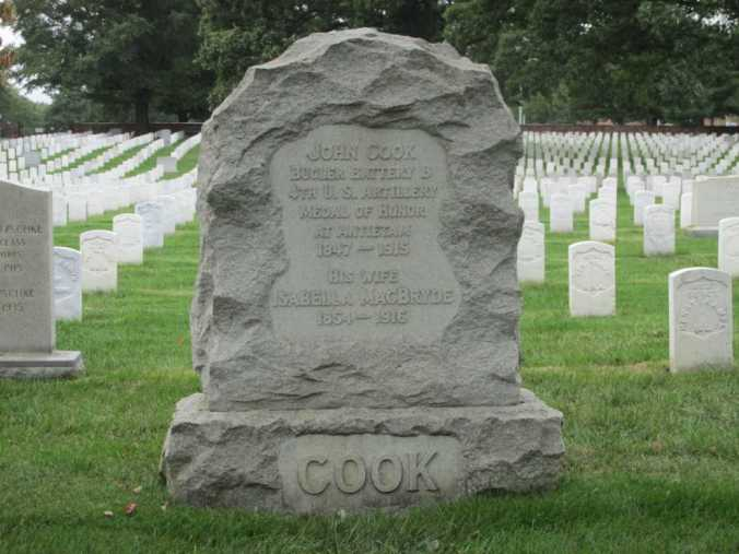 John Cook grave