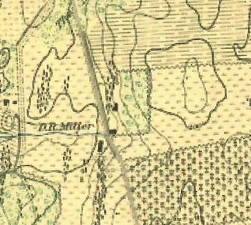 Miller farm map