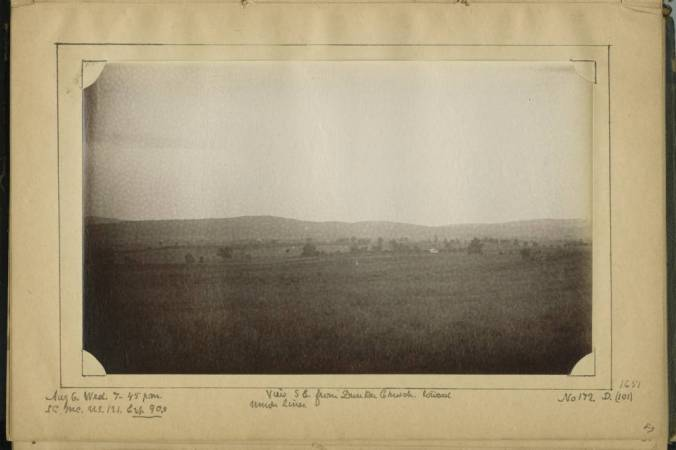 View_SE_from_Dunker_Church_toward_Union_lines