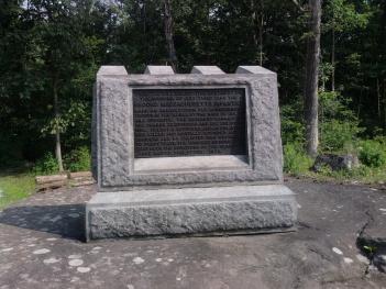 2 MA Gettysburg Monument