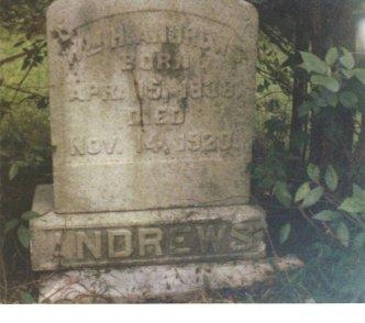 1st GA Andrews Grave