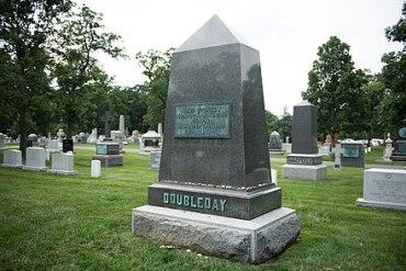 Doubleday grave