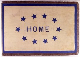 10 - 15th VA (Catherine Heth Morrison made this flag for the 15th Virginia Infantry from her wedding clothes)