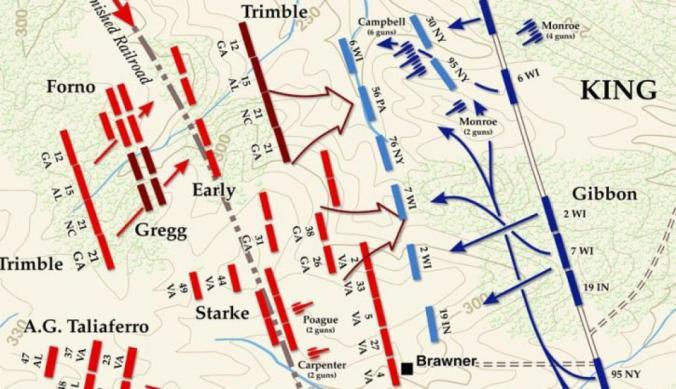 19th in brawner farm map
