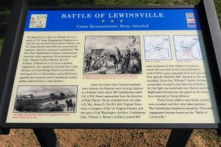 19th in lewinsville marker