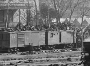 105th NY Troop Train