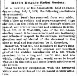 Tigers Hays Brigade Assoc